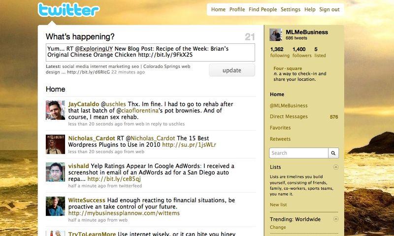 MLM eBusiness RT EUY Screenshot
